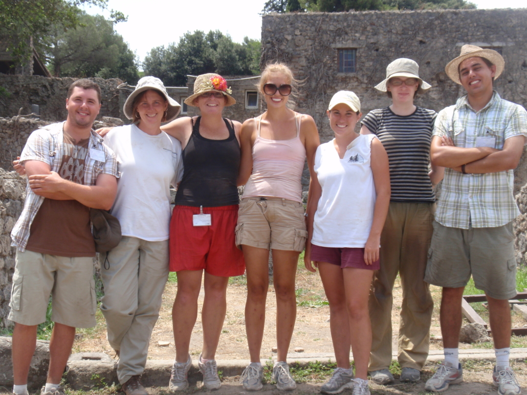 The AAR SPA students who worked for PARP:PS during the 2008 season.